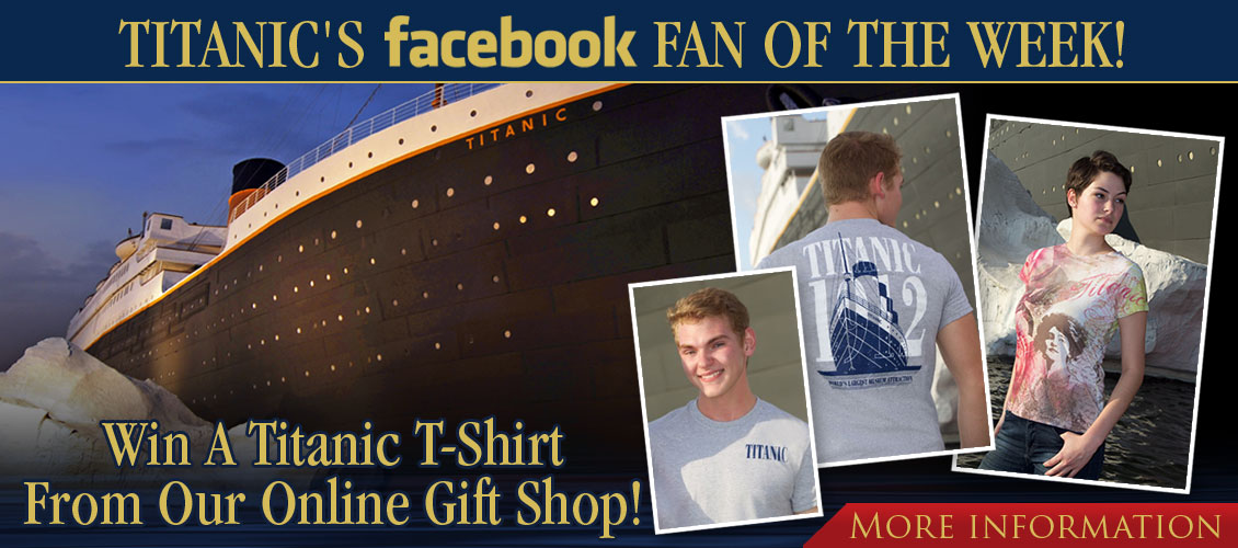 titanic-pigeon-forge-fan-of-the-week