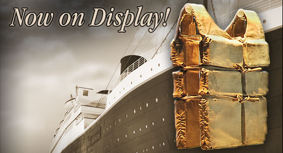 The World's Largest Collection of Last Remaining RMS Titanic Lifejackets Ever Seen.